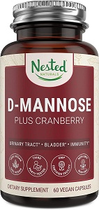 nested naturals d mannose plus cranberry amazon promo code