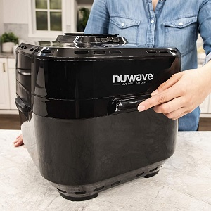 nuwave brio 10 qt air fryer