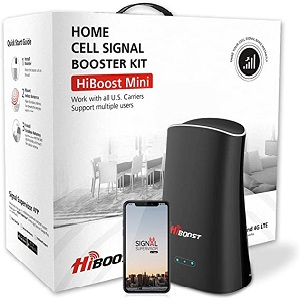 hiboost cell phone signal booster for home office