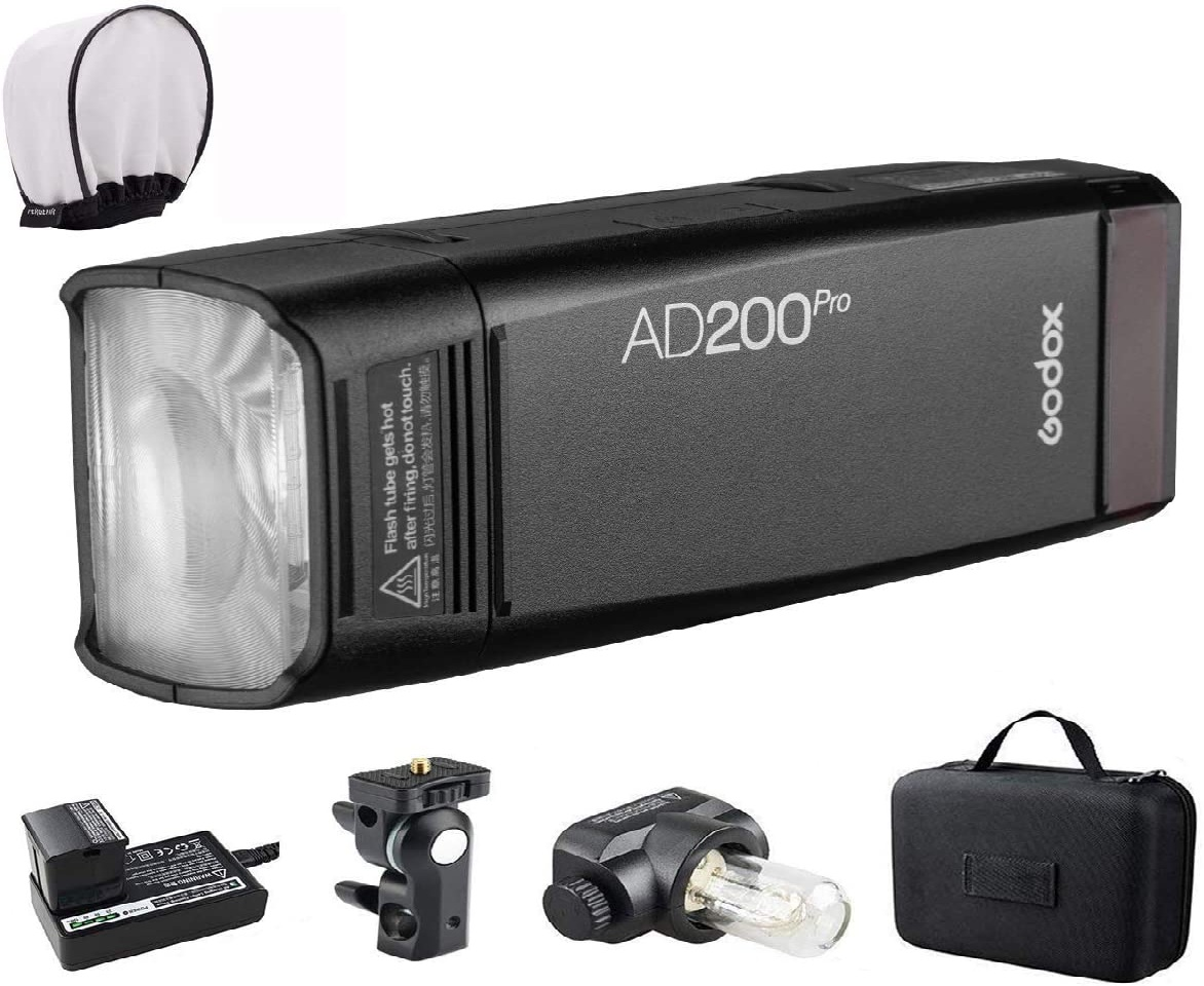 what is the difference between godox ad200 and ad200 pro